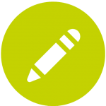 Icon image to show a pencil