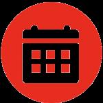 Icons image to show a calendar